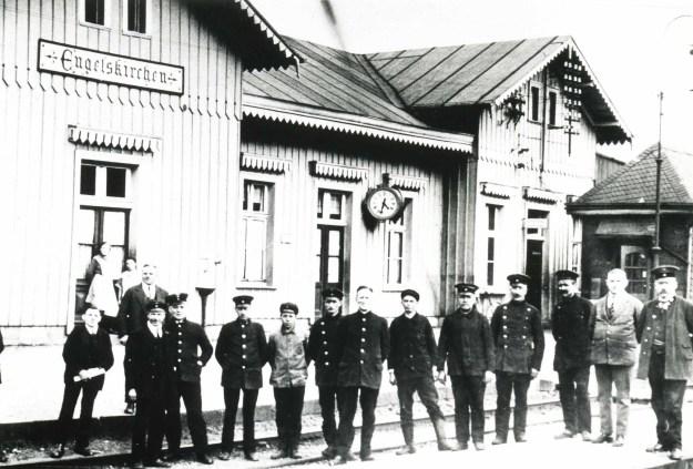Bahnhof Engelskirchen, vor 1900