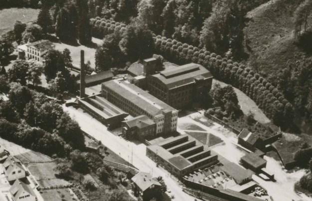 Fabrikgelände von Ermen & Engels nach der Stillegung