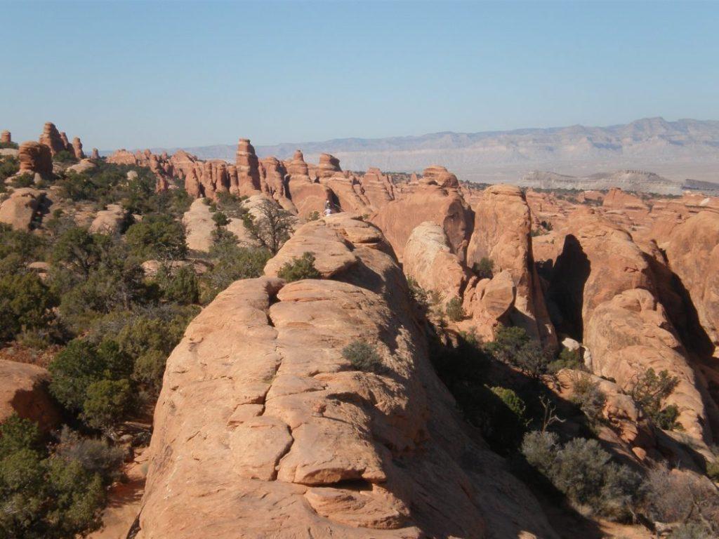 Sulle creste del Devil's Garden + Primitive Loop (Arches, Utah)