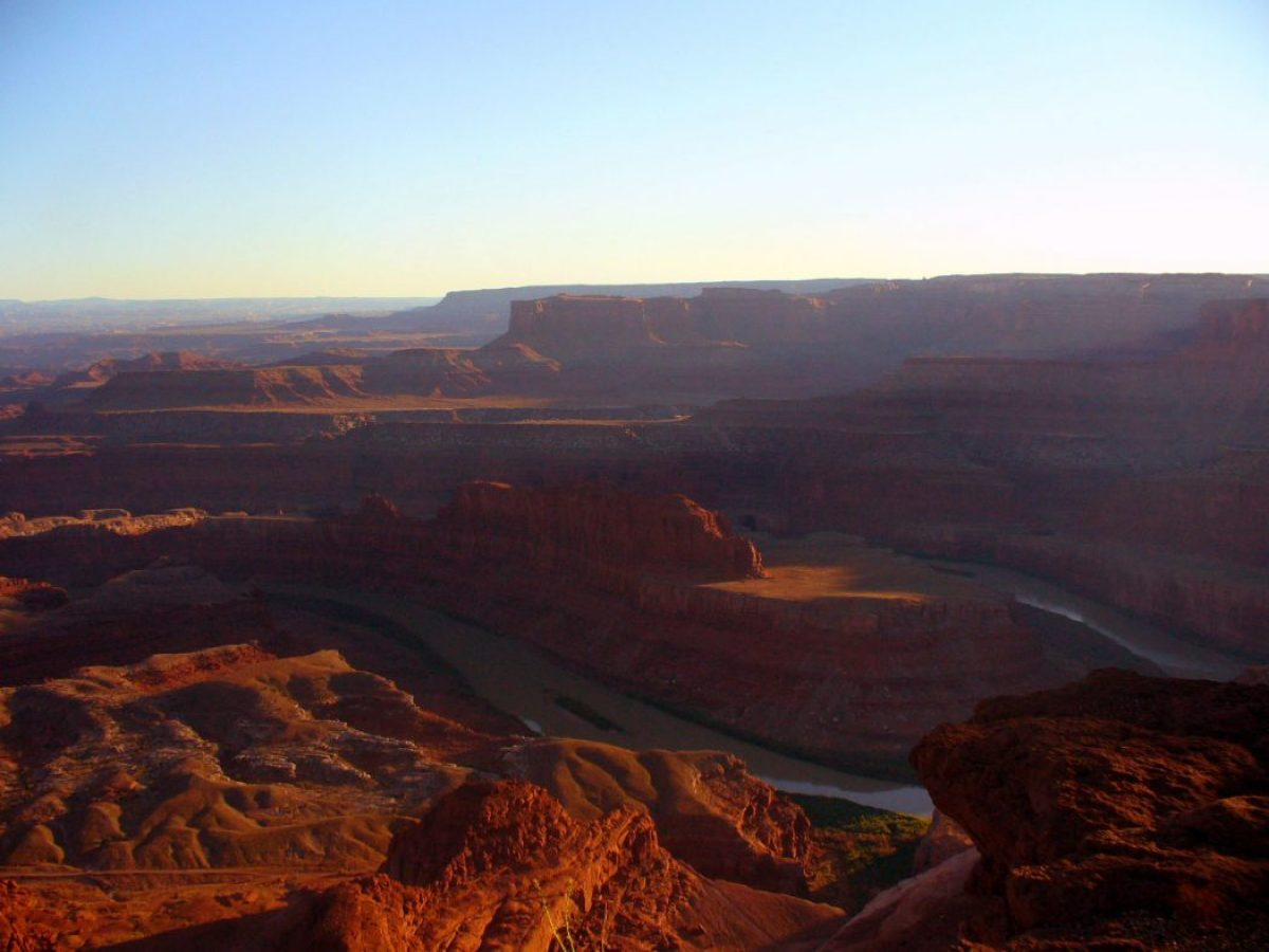 Dead Horse point: uno dei view point migliori del Southwest
