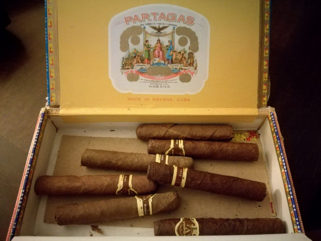 Sigari falsi della cooperativa all'Havana