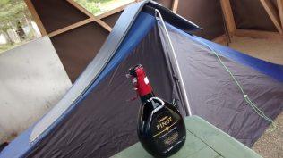 Il mio regno nel camping della riserva Tamango