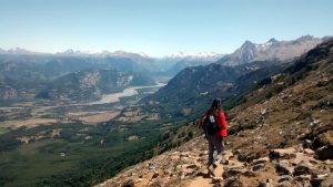 Trekking a Cerro Castillio