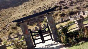 Parque Patagonia: cimitero