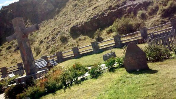 Parque Patagonia: tomba di D. Tompkins (fondatore)