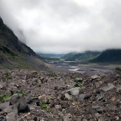 Valle glaciale Minchinmanhuida trail