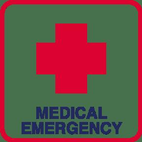 simbolo medical emergency