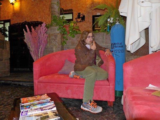 Ossigeno in albergo