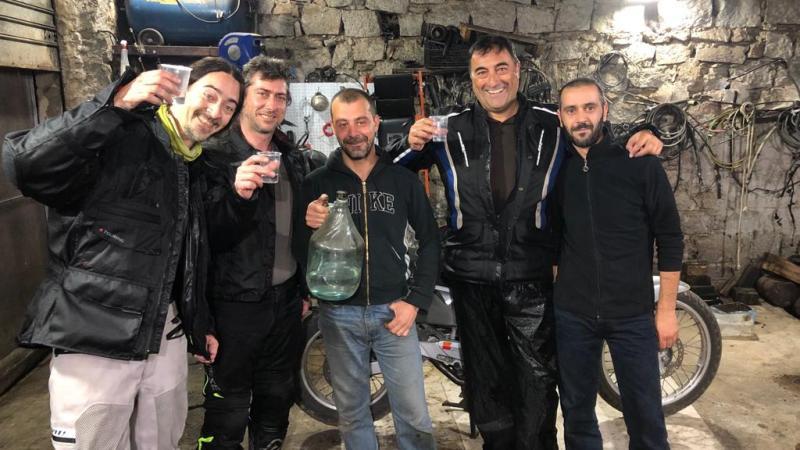 Sardegna in moto 2019 – Giorno #2 – L'antico Transalp andava portato in salvo