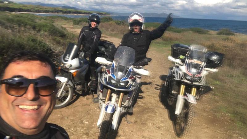 Sardegna in moto 2019 – Giorno#1 – Itinerario in vacca da subito