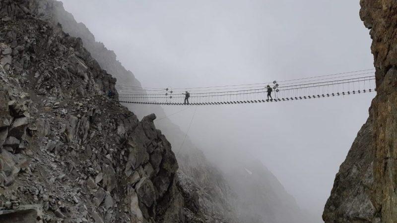 Traversata Imperiale Alpi – giorno #9/10 – Appesi e sospesi