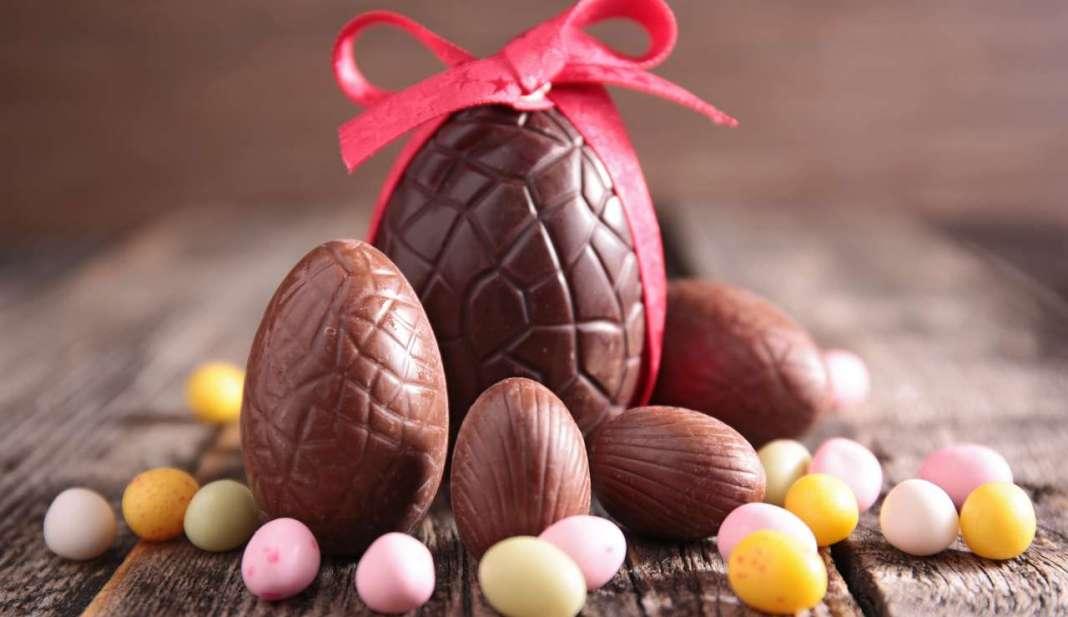 Uovo di Pasqua, simbolo di questa festività.