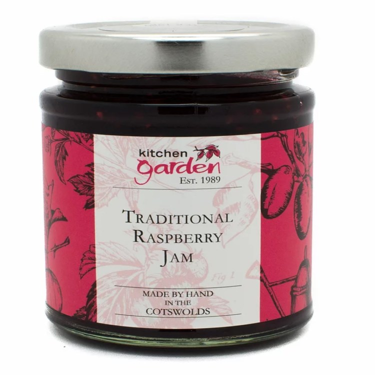 Traditional Raspberry Jam - 200g