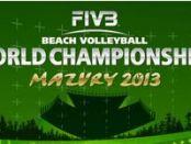 eachvolleyball-Weltmeisterschaft 2013 in Stare Jablonki, Plakat