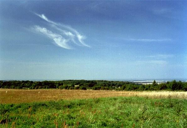 Blick von den Kernsdorfer Höhen/Dylewska Gora, Foto: B.Jäger-Dabek