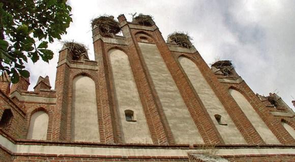 Storchenkirche Lwowiec, Ermland-Masuren, Foto: S.Czacharowski, GFDL