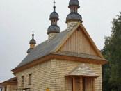 Ukrainische griechisch-katholische Kirche Godkoweo, Foto: Parafia greckokatolicka p.w. Opieki Matki Bożej w Godkowie