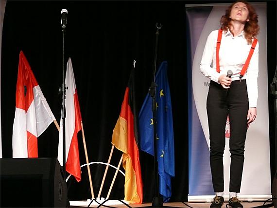 Monika Krzenzek aus Szczytno, Siegerin unter den erwachsenen Solisten, Foto: B.Jäger-Dabek