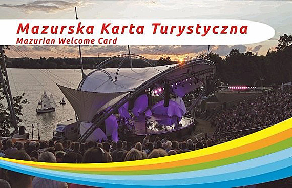 Die Masurian Welcome Card, Foto: Poln. Fremdenverkehrsamt Berlin
