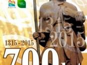 Plakat zum 700. Jubiläum der Christianisierung von Olsztyn, Allenstein