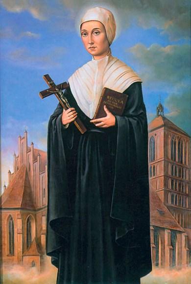 Die selige Regina Protmann, Bildnis Katharinenkirche Braniewo, Foto: B.Jäger-Dabek