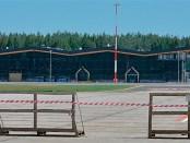 Terminal das neuen Flughafens Olsztyn-Mazury (Juni 2015), Foto: (c) B.Jäger-Dabek