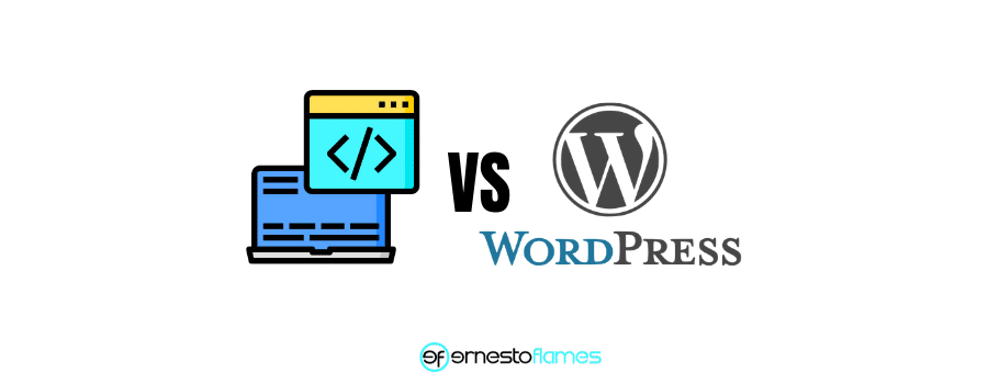 desarrollo vs wordpress
