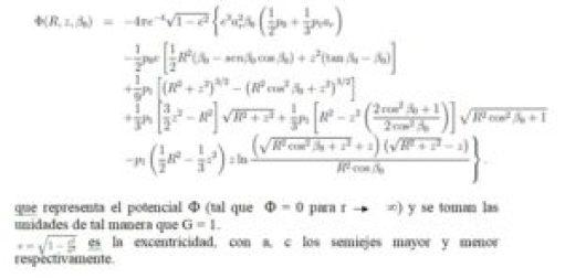 potencial esferoides modelo galaxias