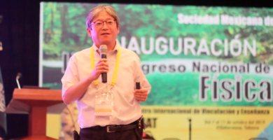 Jun Nakamura Congreso Física