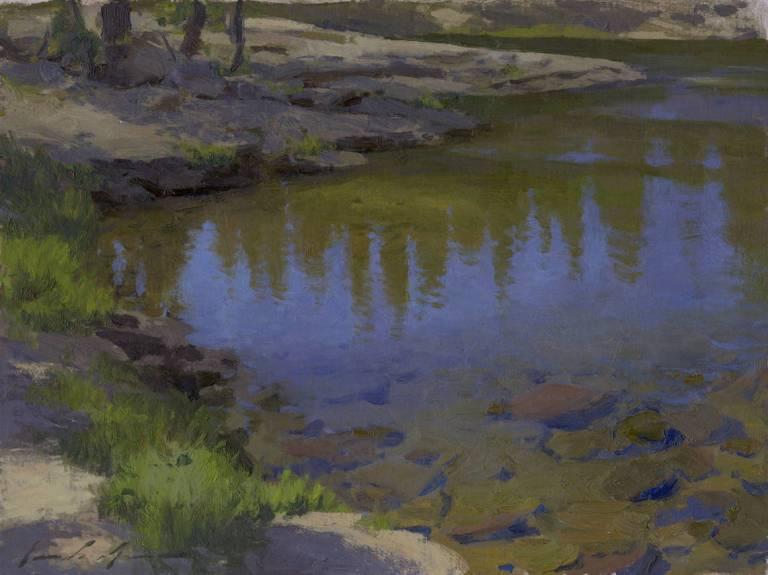 Tuolumne River Afternoon