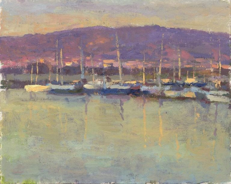 Emeryville Marina sunset