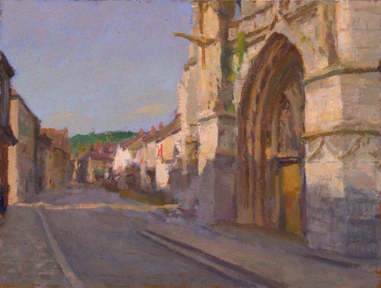 Moret-sur-Loing Church