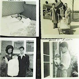 Lansing Michigan U.S.A. Ernesto Panamá Sandoval con sus padres