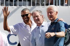C>linto, Bush, Obama