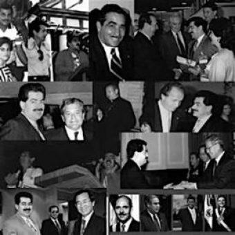 Personajes de la época que forman parte de la formación politica de Ernesto Panamá