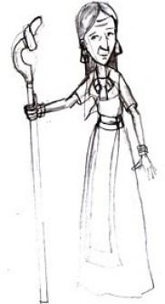 Abuela maya, sacerdotisa Margarita Tonanla