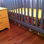 How To Make A Simple Crib Skirt The Adventures Of Ernie Bufflo