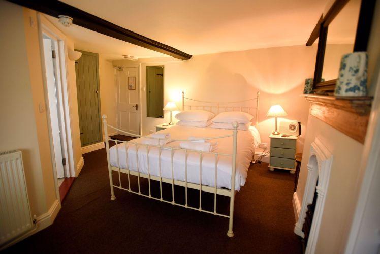Bedroom at The Ship at Dunwich