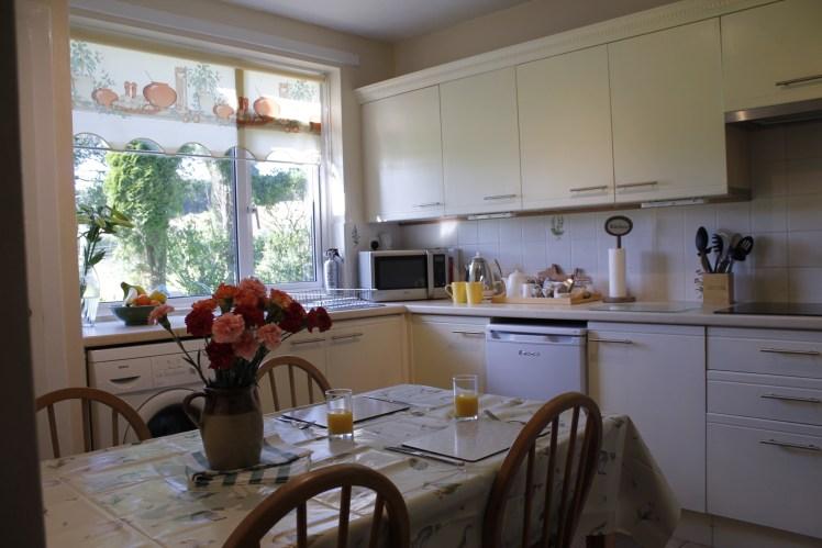 Kitchen at Castle Cottage, Press Mains Farm