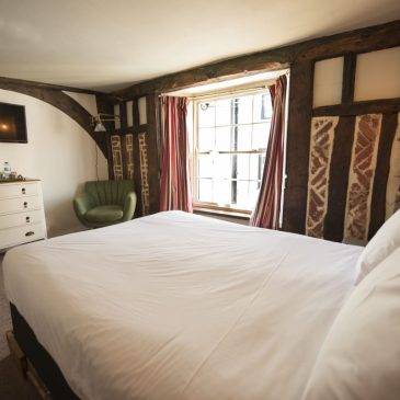 Bedroom at The Alma Inn, Harwich