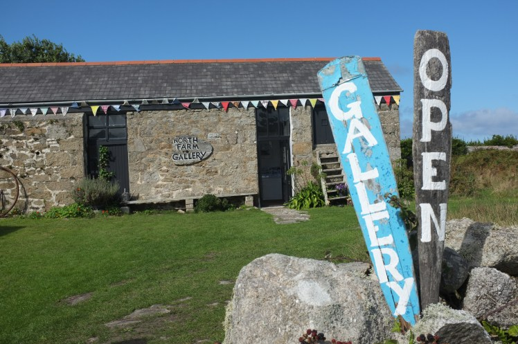 Art gallery on St Martin's, Isles of Scilly