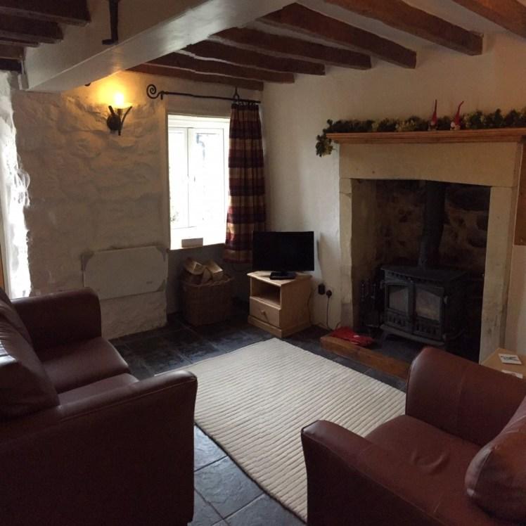 Lounge at Birch Cottage, Warslow