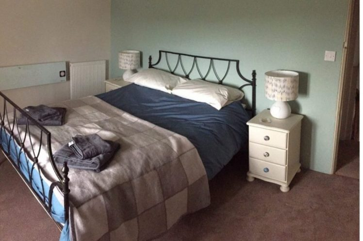 Bedroom at Birch Cottage, Warslow