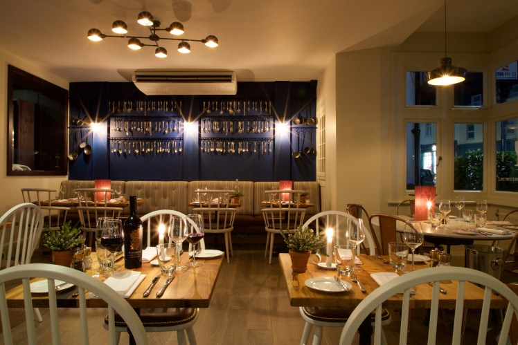 Restaurant at the White Horse, Dorking