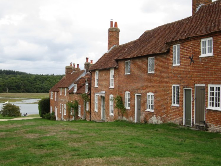Red brick houses at Buckler's Hard