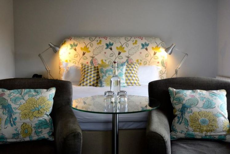 Bedroom at Crown & Castle, Orford