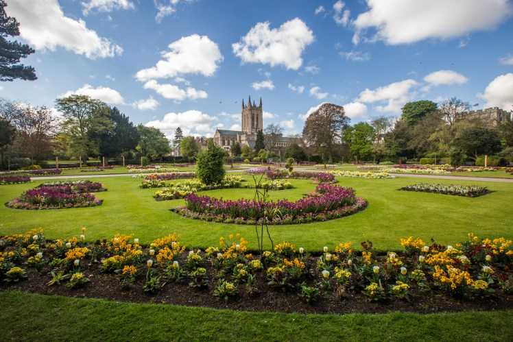 Abbey Gardens at Bury St Edmunds