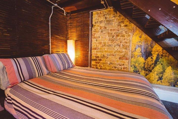 Bed at Brooklyn Lodge, Margate