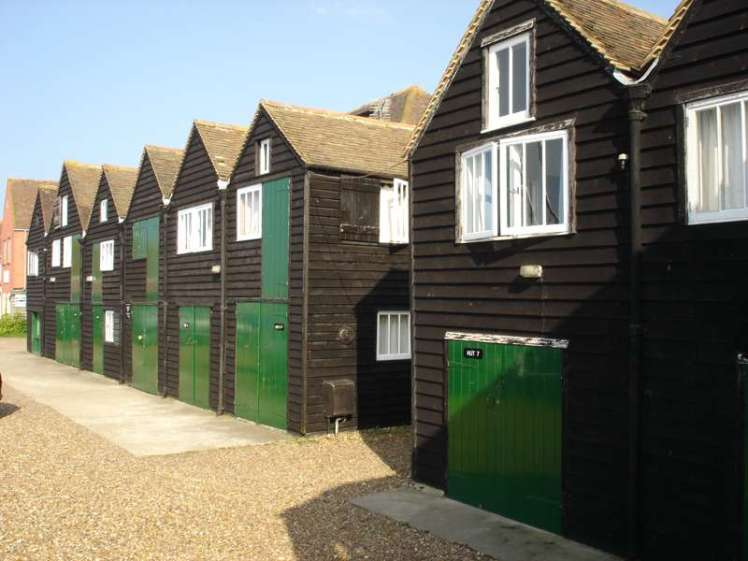 Fisherman's Huts at Whitstable