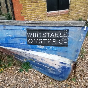 Whitstable Oyster Company boat